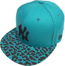 Chapeaux casquettes de base-ball bleus pour femme