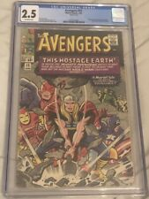 Avengers #12 CGC 2.5 (Off-White Pages)