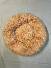 Small Size S Plush Pet Dog Cat Fluffy Soft Warm Calming Bed Sleeping Kennel Nest