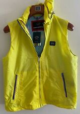 NEW Paul & Shark Yachting Jacket GILET Waistcoat Yellow M