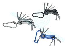 FORD TOOLS - Key Ring Set  - Hex ball Head Allen Key Torx Screwdriver - 3 Sets
