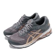 Asics Gel-Kayano 26 D Wide Purple Grey Rose Gold Women Running Shoe 1012A459-022