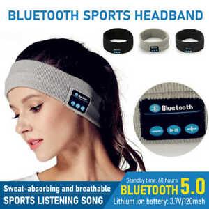 Wireless Bluetooth Music Stereo Sleep Headband Headset Earphone Sport Headphone