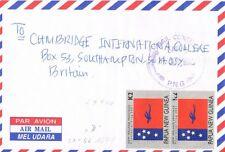 Papua Newguinea, Brief von LAE (LA-56), nach ENGLAND, 1699