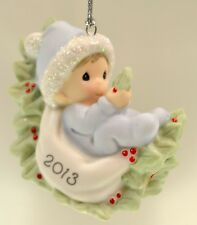 Precious Moments Ornament Baby Boy First Xmas Dated 2013 131006 Bx FreeusaShp
