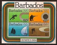 BARBADOS 1984 SPORT OLYMPIC SC # 625 MNH
