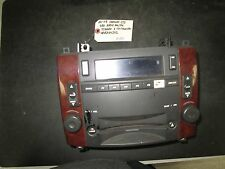06 07 CADILLAC CTS SRX RADIO AM/FM STERO 6 CD CHANGER #15824242