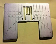 Zig Zag Needle Plate Fits Viking Husqvarna Designer Diamond Sapphire Topaz Ruby