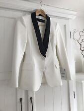 Stylish & Elegant Zara Ladies Tuxedo Jacket Size Small