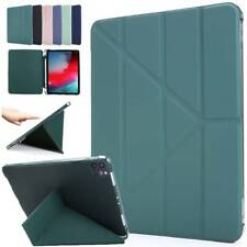 """Smart Leather Cover Stand Case For iPad Mini Air Pro 9.7"""" 10.2"""" 10.5"""" 11"""" 12.9"""""""