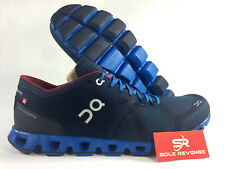 New Men's ON CLOUD X Cloudtec Running Shoes Midnight/Cobalt Blue Red rr1