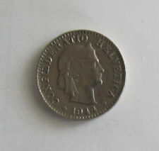"""Münze 20 Rappen Schweizer Franken 1944 """"B"""" aus Umlauf gültiges Zahlungsmittel"""