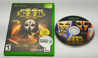 Star Wars: Knights of the Old Republic II Standard Edition- (Xbox, 2004) Boxed