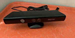 Microsoft Xbox 360 Kinect Motion Sensor Bar Authentic Black 360 Untested