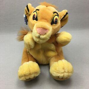 Vintage Disney Simba Hand Puppet Plush Stuffed Animal Toy Lion King Applause
