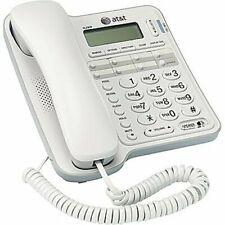 ATT Landline Phone Caller ID Speakerphone For Seniors Large Button For Home Wall