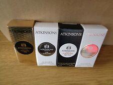 ATKINSONS PREMIUM PERFUME MENS LADIES FRAGRANCE 4 DIFFERENT BOXED SAMPLES VIALS