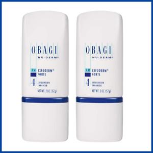 Obagi Medical Nu-Derm Exfoderm Forte Exfoliation Enhancer 2 oz Pack of 2