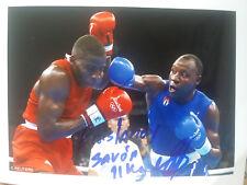 Yudel  Johnson  Olympiazweiter  2004   CUBA   in  Athen  im  Boxen