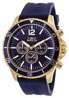 Invicta 24392 Men's 49mm Pro Diver Quartz Chronograph SS and Polyurethane Watch