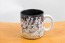 Walt Disney Pictures 101 Dalmatians Puppies Barn Coffee Mug Cup Dogs
