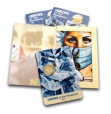 Original Coincard 2 Euro Gedenkmünze Malta 2021 Helden der Pandemie