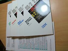 IBM OS/2 2.0 Manuals (1992) Installation Guide/Getting Started/ Using the OS,etc