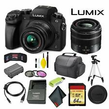 Panasonic Lumix DMC-G7 Mirrorless Micro Four Thirds Digital Camera +14-42mm Lens