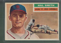 1956 TOPPS #283 HAL SMITH ST LOUIS CARDINALS BK$12.00 B