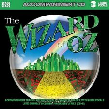 Wizard Of Oz The: Songs From The Musical (Accompan - The (2009, CD NEUF) Karaoke