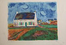 Christian Hugues CAILLARD(1899-1985)Chaumière à Ouessant Bretagne Durand-Ruel