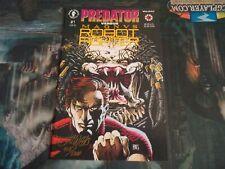 Predator versus Magnus Robot Fighter #1 of 2 Signed Lee Weehs Autograph