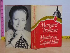 Murder On Capitol Hill by Margaret Truman (1981, Hardcover) BCE