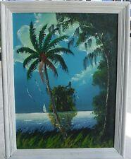 HIGHWAYMEN PAINTING, FLORIDA ART, ISSAC KNIGHT 18X24