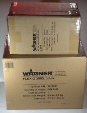 Wagner Flexio 2500 Plus Paint Sprayer Hand Held Extension Pack Shield Extra Cups