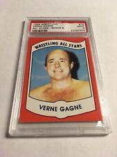 1982 Wrestling All Stars Verne Gagne Card PSA 9 WWE WWF NWA WWA WWWF WCW Jr.