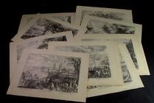 12 facsímil grabados en cobre-meses del año Aegidius Sadeler 1570-1629 bütten