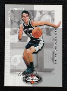 2002-03 Fleer Box Score 1540/1999 Manu Ginobili #145 Rookie RC