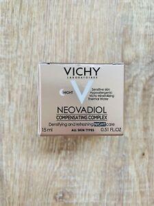 VICHY Neovadiol Ausgleichender Wirkstoffkomplex Nachtcreme 15 ml Probe *NEU*