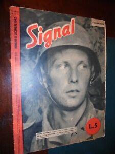 Rivista SIGNAL  n.23/24 dicembre 1942 ; Guerra WWII Soldati Aerei Bombardamenti