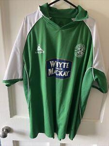 Hibernian Le Coq Sportif Home Shirt 2005/06