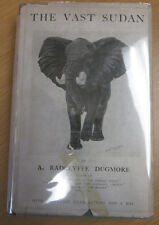 The Vast Sudan  Dugmore, A. Radclyffe 1924 Big Game Hunting Rare Africa Book