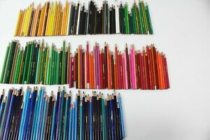 Huge Lot of colored pencils used. Crayola Rose-Art Unbranded  More