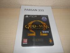 PS3  - GOD OF WAR ASCENSION COLECIONISTA , PAL ESPAÑOL ,COMPLETO