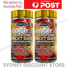 HYDROXYCUT HARDCORE NEXT GEN 150 CAPS x 2 BOTTLES NEW