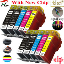 10 HP 564XL Ink Cartridges Photosmart 3070/5510/5520/6510/6520/7510/7520 Printer