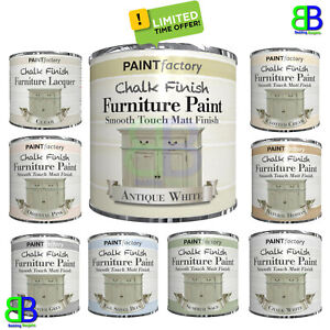 9 Colors Chalk Finish Furniture Paint Wax Lacquer Smooth Touch & Matt Finish DIY