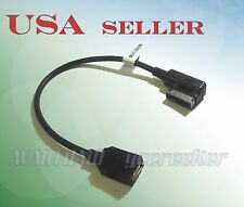 USB A Female to Mercedes-Benz MMI Music System Audio Input Adapter 2660