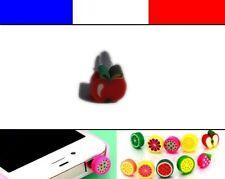 Cache anti-poussière jack universel iphone protection capuchon bouchon POMME 2