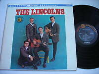 The Lincolns Self Titled Original 1962 Stereo LP VG++